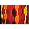 Trademark Global Kathie McCurdy in.Flame Largerin. Canvas Art, 16in. x 24in.