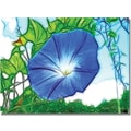 Trademark Global Kathie McCurdy in.Heavenly Blue Morning Gloryin. Canvas Art, 18in. x 24in.