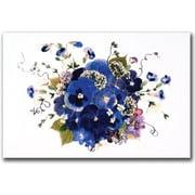 "Trademark Global Kathie McCurdy ""Fancy Free"" Canvas Art, 16"" x 24"""