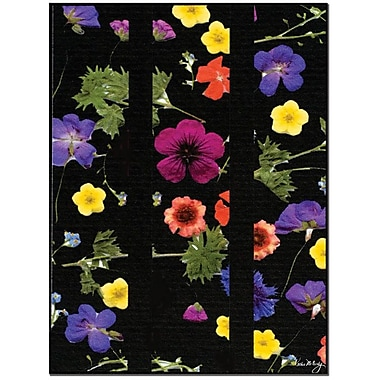 Trademark Global Kathie McCurdy in.Night Gardenin. Canvas Art, 24in. x 18in.
