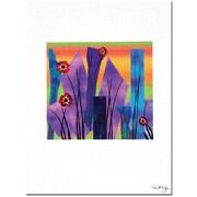 "Trademark Global Kathie McCurdy ""Neon Lights"" Canvas Art, 24"" x 18"""