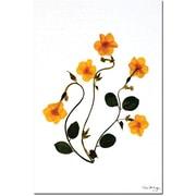 "Trademark Global Kathie McCurdy ""Dancing Daffodils"" Canvas Art, 24"" x 16"""