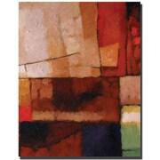"Trademark Global Adam Kadmos ""Elements"" Canvas Art, 24"" x 18"""