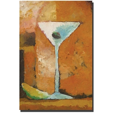 Trademark Global Adam Kadmos in.Martini Grandein. Canvas Art, 24in. x 16in.