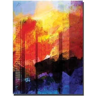 Trademark Global Adam Kadmos in.Leopardin. Canvas Art, 24in. x 18in.