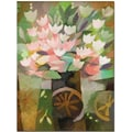 Trademark Global Adam Kadmos in.Flowersin. Canvas Art, 24in. x 18in.