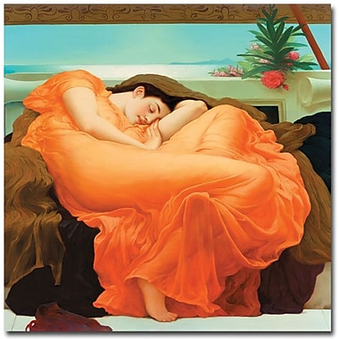 Trademark Global Fredeirck Leighton in.Flaming Junein. Canvas Art, 24in. x 24in.
