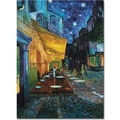 Trademark Global Vincent Van Gogh in.Cafe Terracein. Canvas Arts