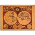 Trademark Global Michelle Calkins in.World Mapin. Canvas Art, 18in. x 24in.