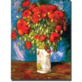 Trademark Global Vincent Van Gogh in.Poppiesin. Canvas Arts