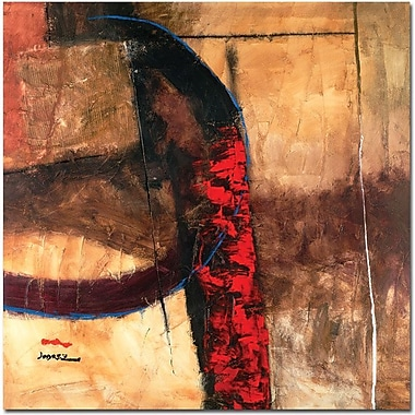 Trademark Global Joarez Abstract in.La Furiain. Canvas Art, 24in. x 24in.