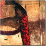 "Trademark Global Joarez Abstract ""La Furia"" Canvas Art, 24"" x 24"""