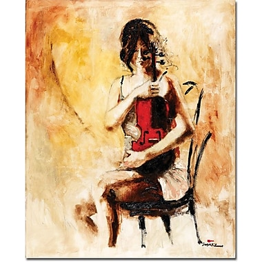 Trademark Global Joarez in.Divine Melodyin. Canvas Art, 19in. x 14in.