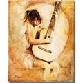 Trademark Global Joarez in.Soft Guitarin. Canvas Arts