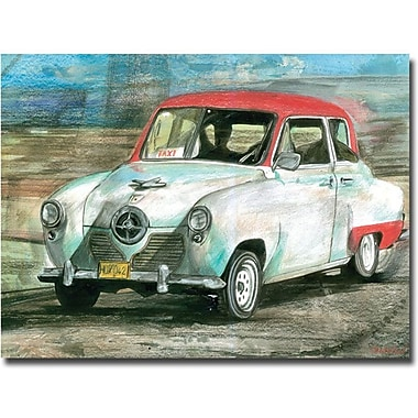 Trademark Global Alberto in.On My Wayin. Canvas Art, 24in. x 32in.