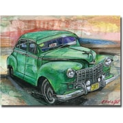 "Trademark Global Alberto ""Havana Vintage Car"" Canvas Art, 35"" x 47"""
