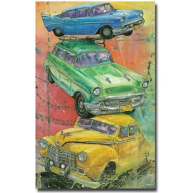 Trademark Global Alberto in.Back Thenin. Canvas Art, 47in. x 30in.