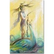 "Trademark Global Osay ""Bohemio"" Canvas Art, 47"" x 30"""