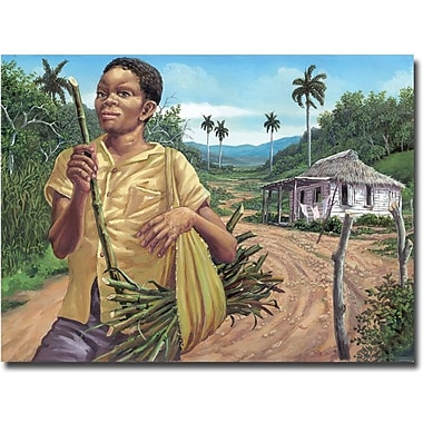 Trademark Global in.Azucarin. Canvas Art, 35in. x 47in.