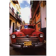 "Trademark Global ""Buscando el Camino"" Canvas Art, 24"" x 16"""