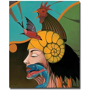Trademark Global Armando in.Beyond Mein. Canvas Art, 24in. x 18in.