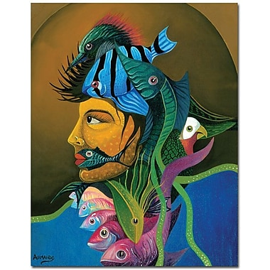 Trademark Global Armando in.Looking At Youin. Canvas Art, 32in. x 26in.