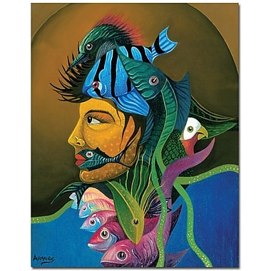 Trademark Global Armando in.Looking At Youin. Canvas Art, 47in. x 35in.