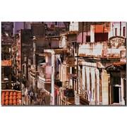 """Trademark Global """"El Vecindario"""" Canvas Art, 16"""" x 24"""""""