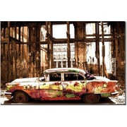 "Trademark Global ""Memories in Color"" Canvas Art, 16"" x 24"""