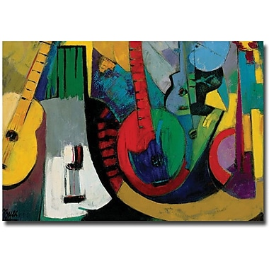 Trademark Global Boyer in.Stringsin. Canvas Art, 30in. x 47in.