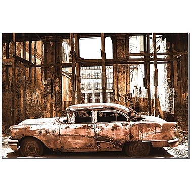 Trademark Global in.Old Timesin. Canvas Art, 16in. x 24in.