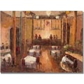 Trademark Global in.Cafe Italiain. Canvas Art, 18in. x 24in.