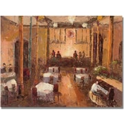 "Trademark Global ""Cafe Italia"" Canvas Art, 18"" x 24"""