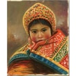 Trademark Global Jimenez in.Mirada Inocentein. Canvas Art, 19in. x 14in.