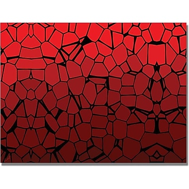 Trademark Global in.Crystal Redsin. Canvas Art, 18in. x 24in.