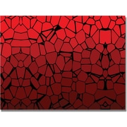 "Trademark Global ""Crystal Reds"" Canvas Art, 18"" x 24"""