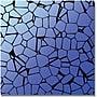 Trademark Global Crystals Blues Canvas Art, 35 x