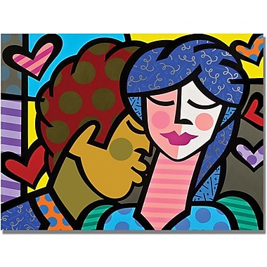 Trademark Global in.Couplein. Canvas Art, 18in. x 24in.