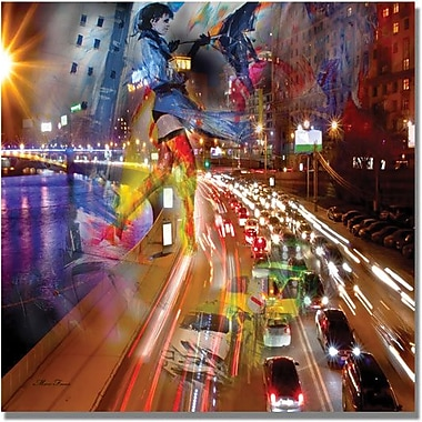 Trademark Global in.Trafficin. Canvas Art, 35in. x 35in.