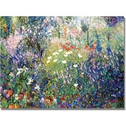 "Trademark Global Manor Shadian ""Garden in Maui"" Canvas Art, 30"" x 47"""
