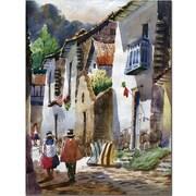 Trademark Global Jimenez Cuzco III Canvas Art, 19 x 14