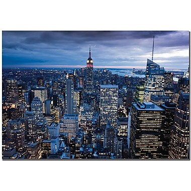 Trademark Global Yakov Agani in.New York City, NYin. Canvas Art, 14in. x 19in.