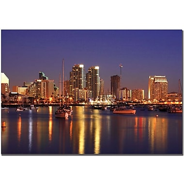 Trademark Global Yakov Agani in.San Diego, CAin. Canvas Art, 14in. x 19in.