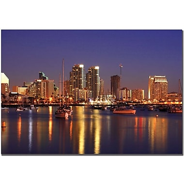 Trademark Global Yakov Agani in.San Diego, CAin. Canvas Arts