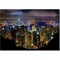 Trademark Global Yakov Agani in.Hong Kong Chinain. Canvas Arts