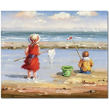Trademark Global in.At the Beach IIin. Canvas Art, 26in. x 32in.
