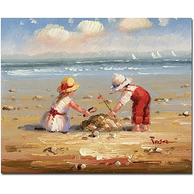 Trademark Global in.At the Beach IVin. Canvas Art, 26in. x 32in.