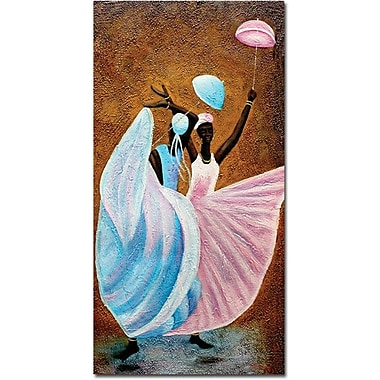 Trademark Global Antonio in.Celebrationin. Canvas Art, 47in. x 24in.
