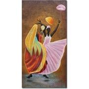 "Trademark Global Antonio ""Dance of Praise"" Canvas Art, 47"" x 24"""