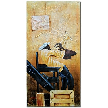 Trademark Global Antonio in.Urban Jazzin. Canvas Art, 47in. x 24in.